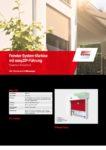 Fenstersystemmarkise mit easyZIP